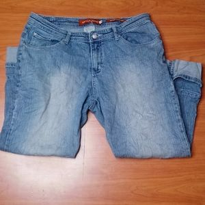 Apollo Jeans Stretch Denim Capri Size 17/18 (U)
